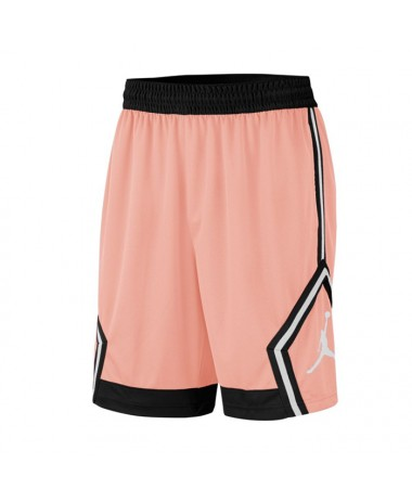 Jordan DIAMOND STRIPED BASKETBALL SHORTS (623)