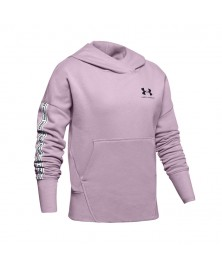 Under Armour GIRLS' SPORTSYTLE FLEECE HOODIE (694)