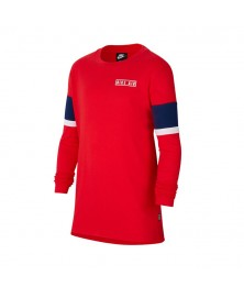 Nike AIR BIG KIDS' LONG-SLEEVE TOP (657)