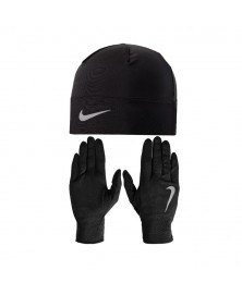 Nike DRI-FIT MEN'S RUNNING BEANIE/GLOVES SET