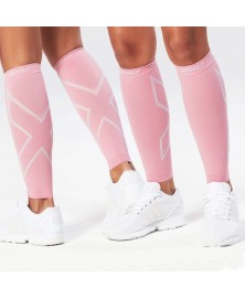 2XU UNISEX COMPRESSION CALF SLEEVE (Pink)