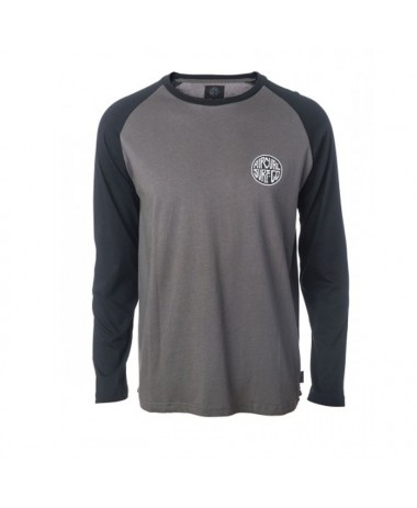 Rip Curl Surfco Raglan Long Sleeve Tee (CTEAS5-0084)