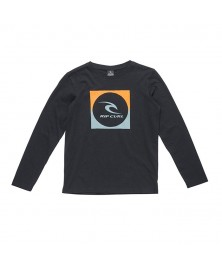 Rip Curl SQUARE LOGO LS TEE JUNIOR (0090)