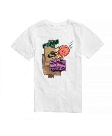 Nike Sportswear Big Kids' Boys' T-Shirt (CT2646-100)