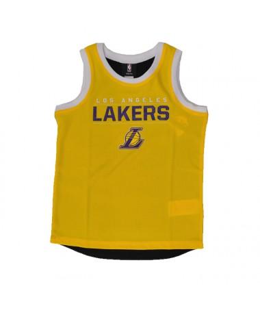 Outerstuff Fly Ball Mesh Tank Lakers Junior (EK2B7BB7Y-LAK)