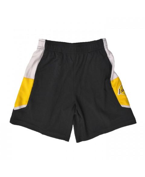 Outerstuff Home Game Shorts Lakers Junior (EK2B7BB8C-LAK)
