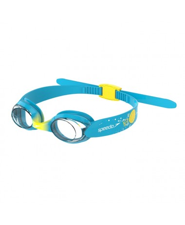 Speedo Sea Squad Illusion Goggle (8-121157239-Blue-Yellow)