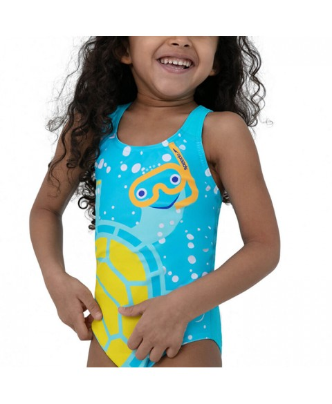 Speedo Tommy Turtle Digital Crossback Swimsuit (8-10902D820)