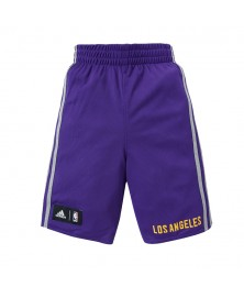 Adidas NBA SHORT L.A. LAKERS WINTER HOOPS REV (AA7778)