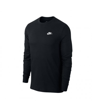 Nike MEN NSW CLUB TEE LONG SLEEVE (010)