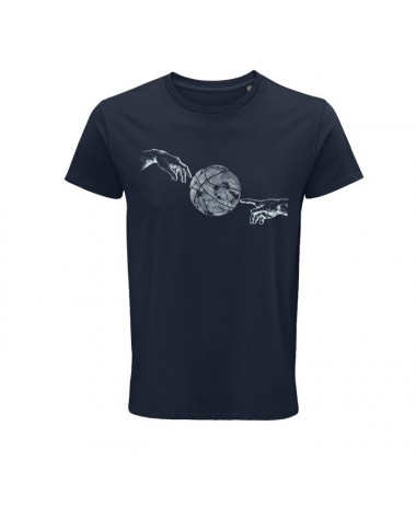 Ball Line HANDS T-SHIRT (Blau marí)