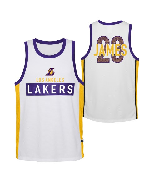 Outerstuff  DOMINATE SUBLIMATED SHOOTER TANK Lakers