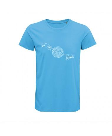 Ball Line HANDS T-SHIRT (Blau)