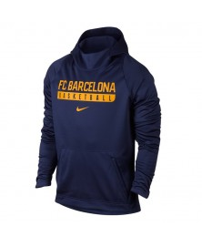 FC BARCELONA BASKETBALL ELITE HOODIE PULLOVER (421)