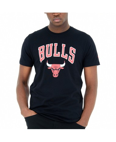 New Era Chicago Bulls Team Logo Tee