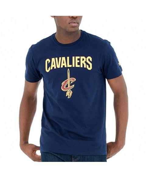 New Era Cleveland Cavaliers Team Logo Tee