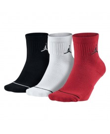 Jordan JUMPMAN HIGH-INTENSITY QUARTER SOCK 3PACK (011/018)