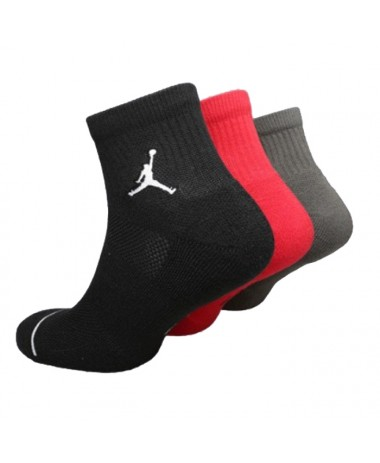 Jordan Jumpman High-Intensity Quarter Sock 3Pack (XS5544-001-018)