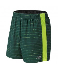 New Balance GRAPHIC ACCELERATE 5 INCH SHORT (NOS)