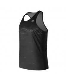 New Balance GRAPHIC SINGLET (BK)