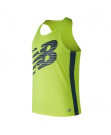 New Balance GRAPHIC SINGLET (HIL)
