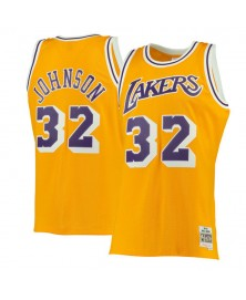 Mitchell & Ness MAGIC JOHNSON SWINGMAN JERSEY L.A. LAKERS