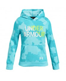 FLEECE UA RIVAL WORDMARK (449)