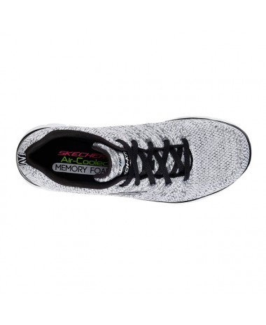 Skechers Flex Appeal 2.0 - High Energy (12756-WBK)