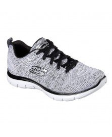Skechers FLEX APPEAL 2.0 - HIGH ENERGY (12756/WBK)