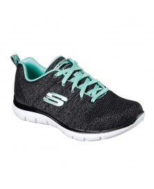 Skechers FLEX APPEAL 2.0 - HIGH ENERGY (12756/BKAQ)