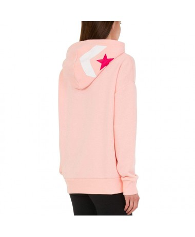 Converse Star Chevron Oversized Pullover Hoodie (10007716-A03-690)