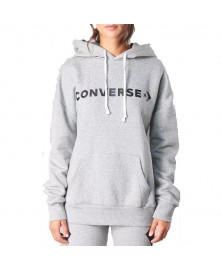 Converse WOMEN STAR CHEVRON GRAPHIC PULLOVER HOODIE (035)