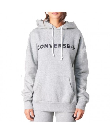 Converse Star Chevron Oversized Pullover Hoodie (10007716-A05-035)