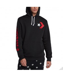 Converse MEN STAR CHEVRON GRAPHIC PULLOVER HOODIE (001)