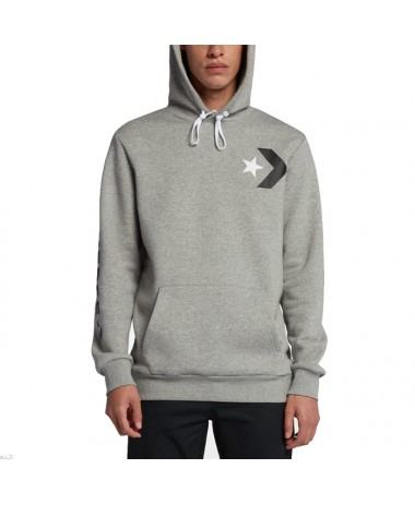 Converse Men Star Chevron Oversized Pullover Hoodie (10007048-A01-035)