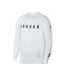 Jordan HO 1 LONG SLEEVE BASKETBALL SHIRT (100)