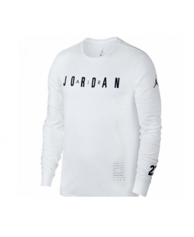 Jordan HO 1 LONG SLEEVE BASKETBALL SHIRT (100)