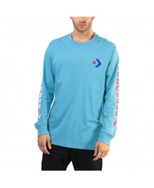 Converse STAR CHEVRON WORDMARK LONG SLEEVE T-SHIRT (447)