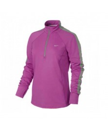 Nike RACER LADIES LONG SLEEVE HALF-ZIP RUNNING TOP (675)