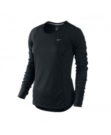Nike WOMEN'S RACER L/S RUNNING TOP (520278-011)