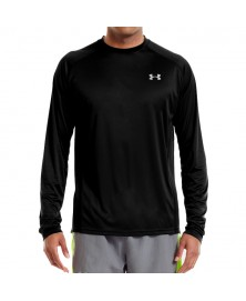 Under Armour MEN'S HEATGEAR FLYWEIGHT RUN LONG SLEEVE (001)