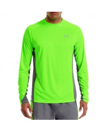 Under Armour MEN'S HEATGEAR FLYWEIGHT RUN LONG SLEEVE (389)