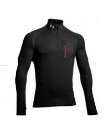 Under Armour MEN'S THERMO RUN STORM 1/4 ZIP (001)
