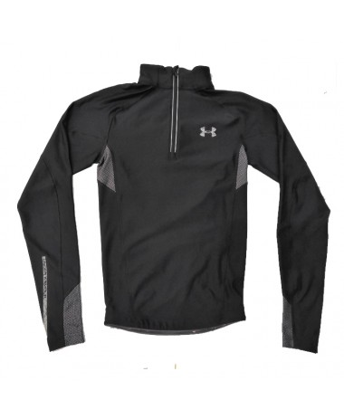 UA ColdGear Compression Half-Zip Running Top (1221964-123)