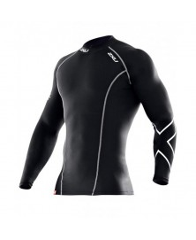 2XU MEN'S L/S COMPRESSION TOP (MA1984a)