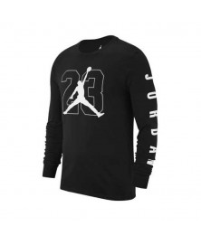 Jordan GRAPHIC 1 LONG SLIVES TEE (010)