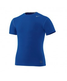 Nike PRO CORE TIGHT SHORT SLEEVE CREW (493)