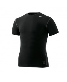 Nike PRO CORE TIGHT SHORT SLEEVE CREW (010)