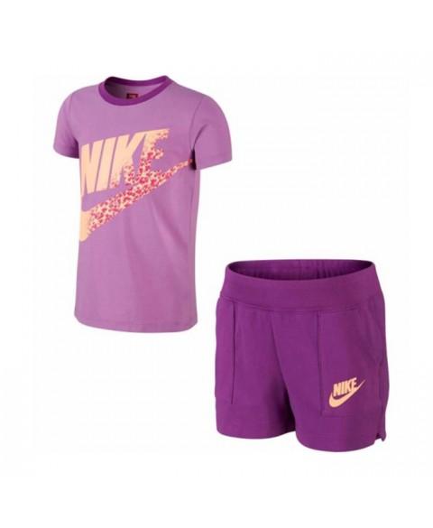 Nike Kids T-Shirt+Shorts Set (644523-510)