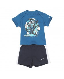 Nike INFANT T-SHIRT+SHORTS SET (605748-417)